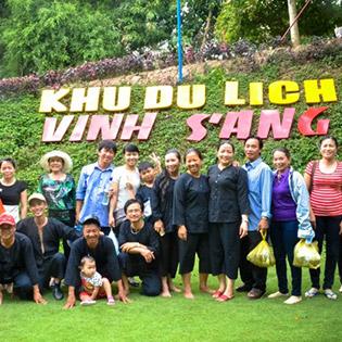 Tour Miền Tây 1 Ngày – KDL Vinh Sang – Chùa Lá Sen – Áp Dụng Lễ, Tết