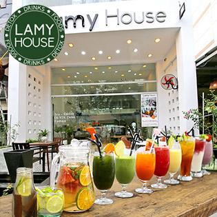 Trải Nghiệm Thức Uống Đẳng Cấp + Tặng Voucher 500.000 VNĐ Tại Lamy House