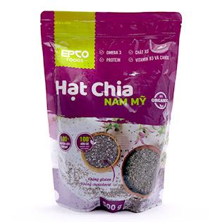 Hạt Chia Nam Mỹ Tự Nhiên 100% (500gr) - Epco Foods