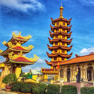 Tour Tết Hành Hương 10 Chùa Miền Tây 1 Ngày – Cầu An Đầu Năm