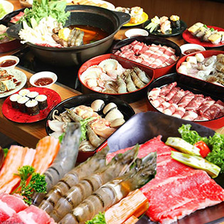 Ưu Đãi Giờ Vàng: Buffet Băng Chuyền, Free Buffet Kem - Tokyo Ginza Koma