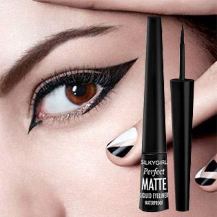 Kẻ Mắt Nước Silkygirl Perfect Matte Liquid Eyeliner GE0235