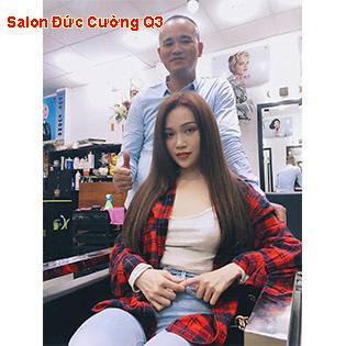 Combo Làm Tóc Uốn/ Nhuộm/ Duỗi/ Bấm/ Phục Hồi Siêu Hot – Hair Salon Đức Cường – Quận 03
