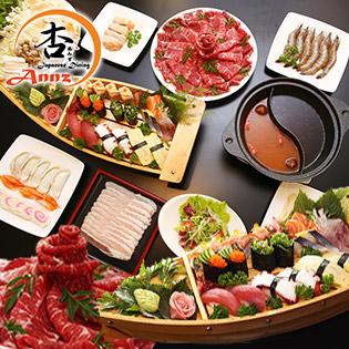 Buffet Cao Cấp Trưa/ Tối Sushi Và Tinh Hoa Lẩu Nhật Tại Annz Japanese Dining