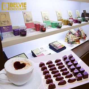 Chocolate Belvie – Áp Dụng Tất Cả Sản Phẩm Socola Thượng Hạng Giải Vàng Quốc Tế 2017