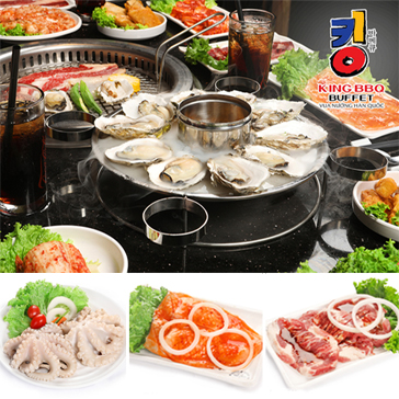 Buffet Nướng Lẩu King BBQ - Vua Nướng Hàn Quốc - Menu 329K
