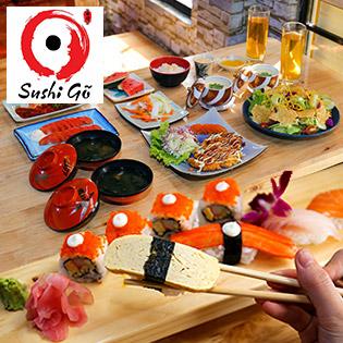 05 Set 8 Món Nhật Sang Trọng Và Hấp Dẫn Dành Cho 02 Người Tại Sushi Gõ