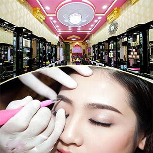 Điêu Khắc Chân Mày 8D/ Môi Collagen/ Phun Mày Tán Bột/ Mí Mở Tròng Tại Alisa Beauty Spa