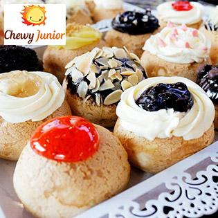 Hệ Thống Chewy Junior - Bánh Su Kem Singapore Ngon Nhất Sài Gòn