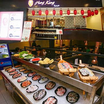 Chỉ 99k Buffet Line Nướng Bò Mỹ, Thịt Nướng Và Hải Sản Không Giới Hạn Tại Hong Kong Town SC Vivo City