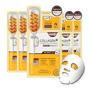 Combo 2 Mặt Nạ Hai Bước Collagen Ngăn Ngừa Lão Hóa Collagen Plus Mediheal