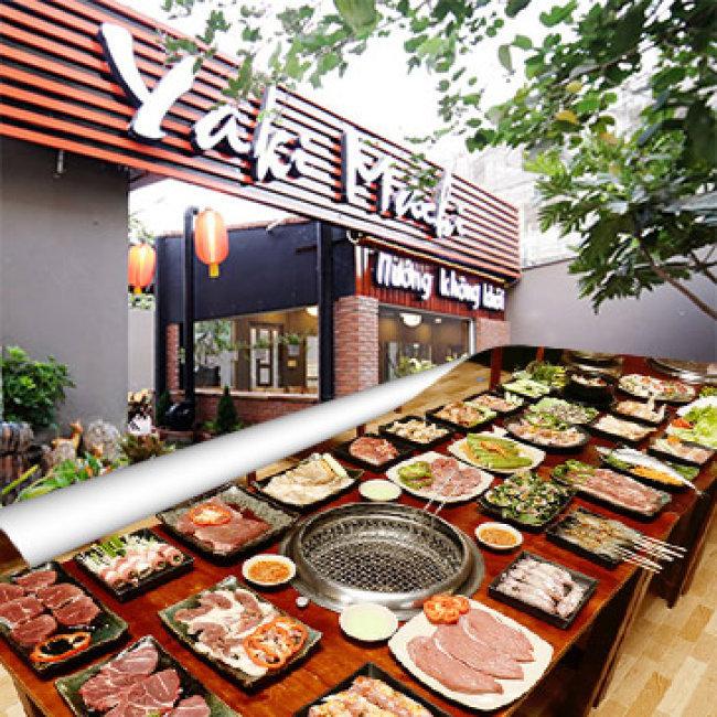 Buffet Tối/ Trưa BBQ Bò Mỹ - Hải Sản - Lẩu Gần 50 Món Tại Nhà Hàng Yaki 3