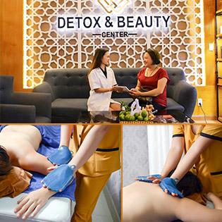 Massage Chải Thông Kinh Lạc, Thải Độc Tố Cơ Thể - Y Học Cổ Truyền (Việt Nam – Trung Hoa) Duy Nhất Tại Detox & Beauty Center