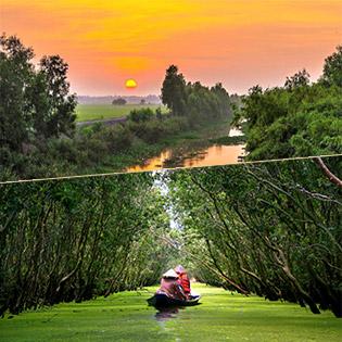 Tour Quần Đảo Bà Lụa – Rừng Tràm Trà Sư 2N2Đ – Nghỉ Dưỡng Resort 4*  – Khởi Hành Thứ 6 Hàng Tuần