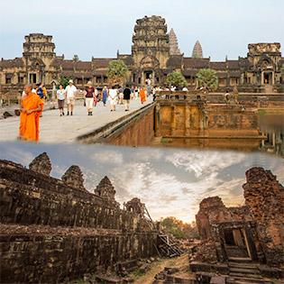 Tour 4N3Đ Siem Reap – Phnom Penh – Khám Phá Angkor Huyền Bí – Thứ 5 Hàng Tuần
