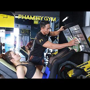 Phạm Hy Gym – Giá Sock 01 Tháng Tập Gym, Yoga, Kick Boxing Không Giới Hạn