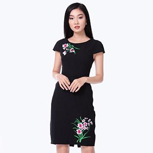 Đầm Thêu Lady Sang Trọng