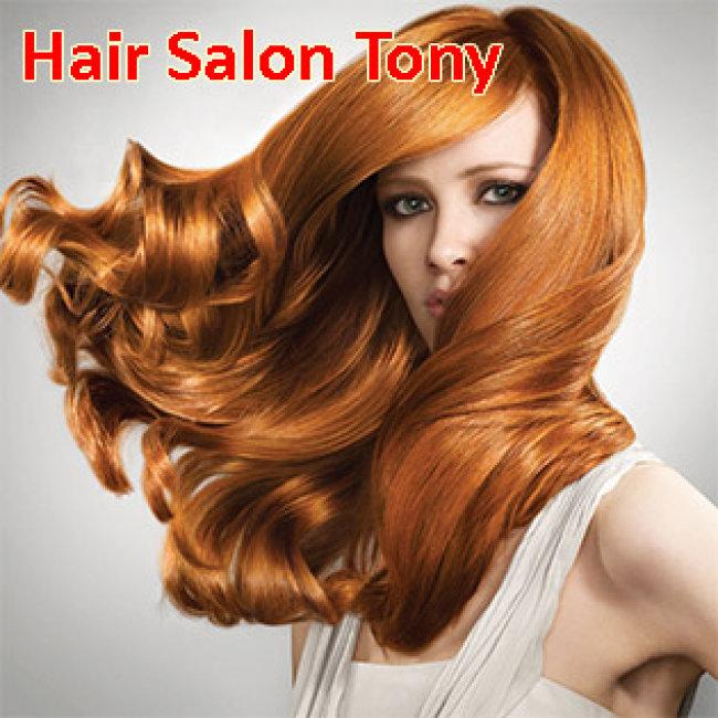 Hair Salon Tony – Trọn Gói Làm Tóc Cao Cấp – Tặng Hấp Dầu + BH 03 Tháng
