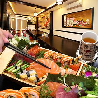 Annz Japanese Dining – Set Thuyền Sashimi, Sushi Thượng Hạng, Free Khăn Lạnh
