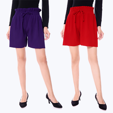 Combo 2 Quần Short Dập Ly Hot Trend