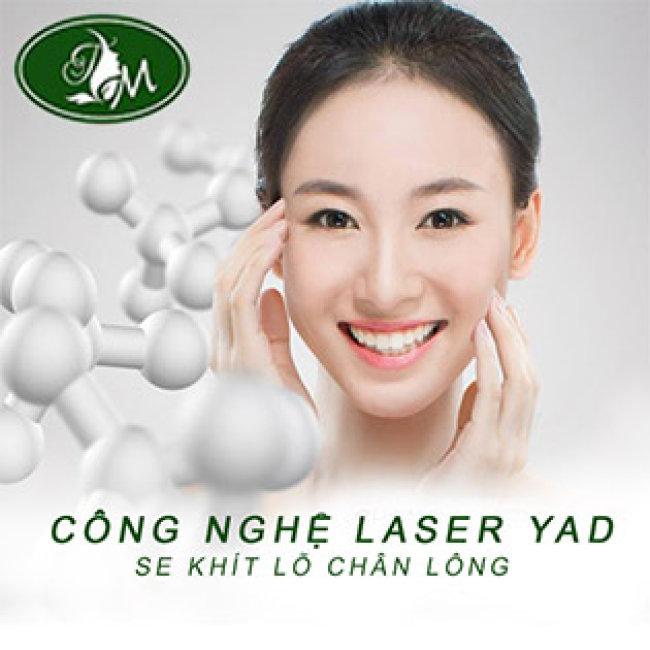5 Lần Thu Nhỏ Chân Lông Và Trẻ Hóa Da Mặt Công Nghệ Laser Yad + Tặng Thêm 5 Lần Chạy Vitamin C Tại Mỹ Viện Tuệ Minh