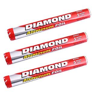 Combo 3 Cuộn Màng Nhôm Diamond (30CM X 5M)