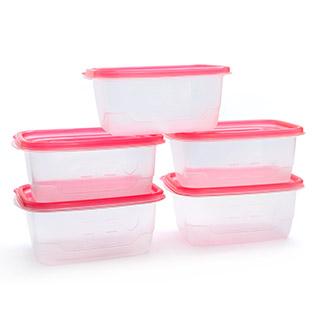 Bộ 5 Hộp Đựng Thực Phẩm Soup & Salad Diamond (710ml / Hộp)