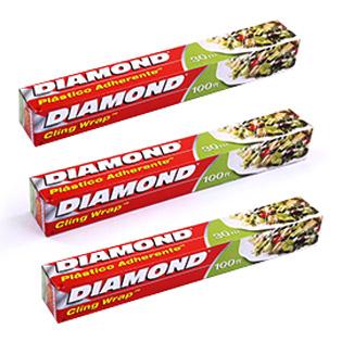 Combo 03 Màng Bọc Thực Phẩm Diamond 30Cmx30M