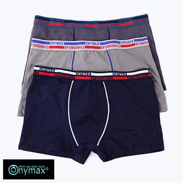 Combo 3 Quần Boxer Nam Thời Trang Onymax