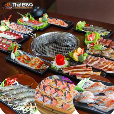 Buffet Nướng Lẩu Thái Lan  - Thái BBQ Mipec Long Biên