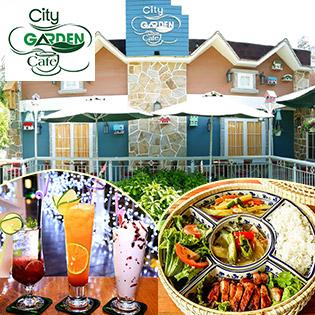 City Garden Cafe - Ăn Uống Chụp Hình Thỏa Thích Trong Thế Giới Hiện Đại Thu Nhỏ