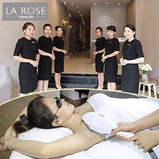 10 Lần Triệt Lông Vĩnh Viễn, Không Đau + Hiệu Quả (BH 02 Năm) Tại La Rose Clinic & Spa