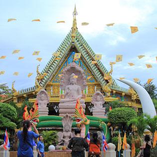 Tour Liên Tuyến Campuchia – Lào – Đông Bắc Thái Lan 4N3Đ Khám Phá Pakse – Ubon Ratchathani – Di Sản Thế Giới Wat Phou