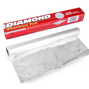 Hộp Màng Nhôm Lá Mỏng Diamond 45CM X 7.6M