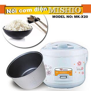 Nồi Cơm Điện Mishio 1.2 Lít