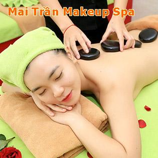 Miễn Tip – (120') Massage Body + Chạy Vitamin C/ Chạy Vitamin C/ Trị Mụn/ Hút Chì/ Gội Đầu – Mai Trần Makeup Spa