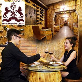 Set Menu Hấp Dẫn Đẳng Cấp 5* Dành Cho 2 Người Tại Hầm Rượu Aum Wine Cellar
