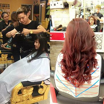 Hair Salon KĐạt - Cây Kéo Vàng 2013 - Trọn Gói Làm Tóc Cao Cấp - Tặng Hấp Dầu