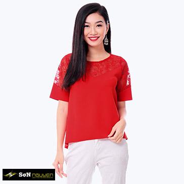 Áo Kiểu 44703 - TH Sơn Nguyễn