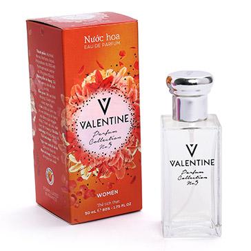 Nước Hoa Nữ Valentine 50ml