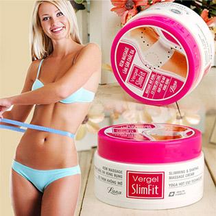 Kem Massage Tan Mỡ Bụng Vergel Slimfit - Lana Cosmetics