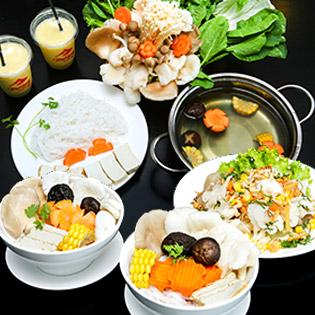01 Trong 02 Set Chay Đặc Sắc Cho 02 – 03 Người Tại Nhà Hàng Mekong Healthy Food