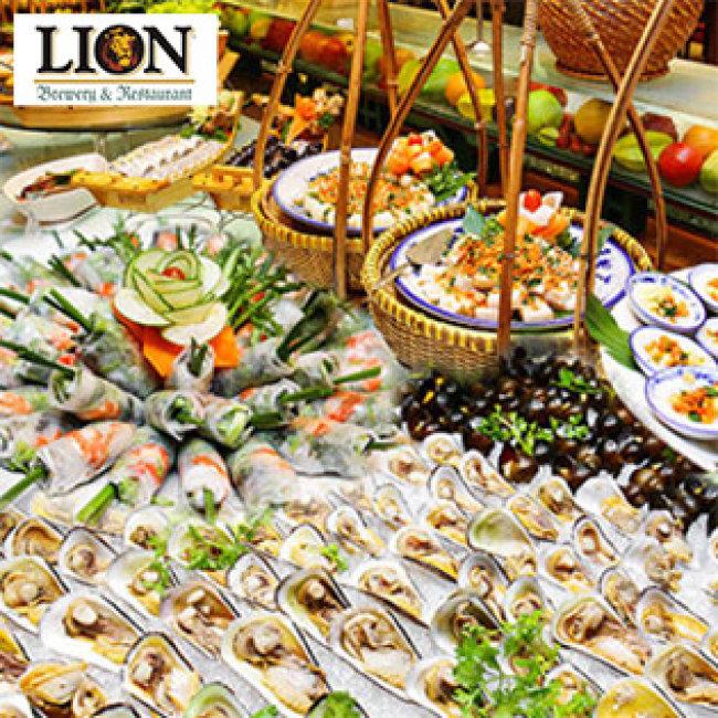 Buffet Trưa Gánh Lion Tại Nhà Hàng Lion - Công Trường Lam Sơn, Quận 1