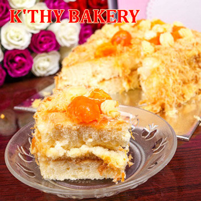 Bánh Bông Lan Trứng Muối Đặc Biệt Thơm Ngon Tại K'thy Bakery