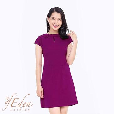 Đầm Suông Cách Điệu Cổ Thời Trang Eden - D144
