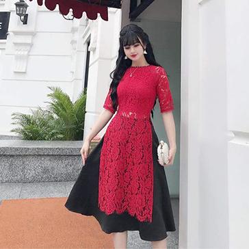 Áo Dài Ren Cách Tân Fashion
