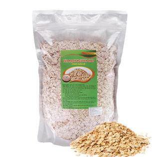 1kg Bột Yến Mạch Rolled Oats Nguyên Chất 100%