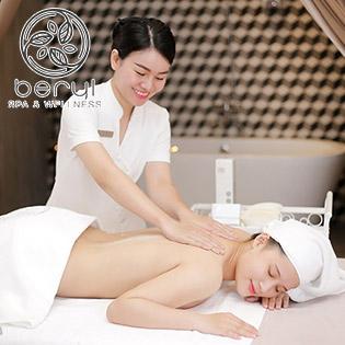Beryl Spa & Wellness Đẳng Cấp 5 Sao – (60') Massage Body Thư Giãn Tinh Dầu, Tinh Dầu Kết Hợp Bẻ – Aromatherapy Tặng Kèm Xông Hơi/ Gội Đầu Miễn Phí