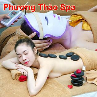 Miễn Tip – (120') Massage Body + Foot + Ngâm Chân + Đắp Mặt Nạ/ Điều Trị Mụn, Thâm – Phương Thảo Spa
