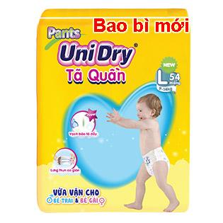 Tả Quần Unidry Size L54 (Cho Bé 9-14kg)